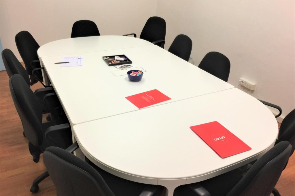 Treework Spazio di Coworking- Sala riunioni